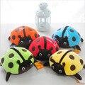 20 cm Regalos de Boda Lindos Coloridos Insectos Mariquita de Peluche Suave Juguete de Peluche Animales Del juguete Del Bebé Envío Libre