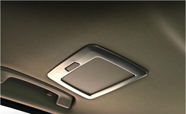 Chrome Interior Rear Mirror Stainless Decoration Cover Trim 2pcs For BMW 3 series F30 316i 320i 328i 2013 2014 2015 car styling полуось на bmw 316i в беларуси