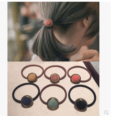 Japan and South Korea fashion headdress hair bands Korea adorn article concise hair act the role of taenia 2016 new elastic hair japan and the shackles of the past