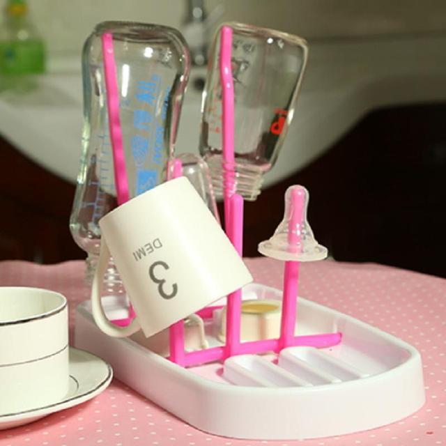 Складная Детские Молочные Бутылки Сушилка Полка Держатель Baby Bottle Rack
