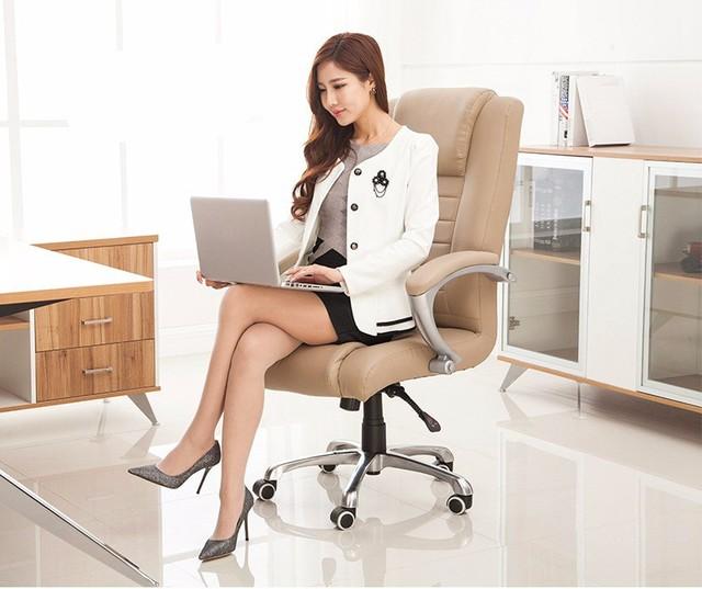 CONFORTO multifuncional de escritório em casa cadeira do computador cadeira ergonômica cadeira boss explosão-prova