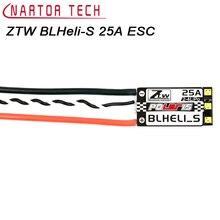 4 шт. оригинальный ZTW blheli программа-S 25a Поддержка 2-4 S бесщеточный OPTO ESC для F330 Радиоуправляемый Дрон quadcopter