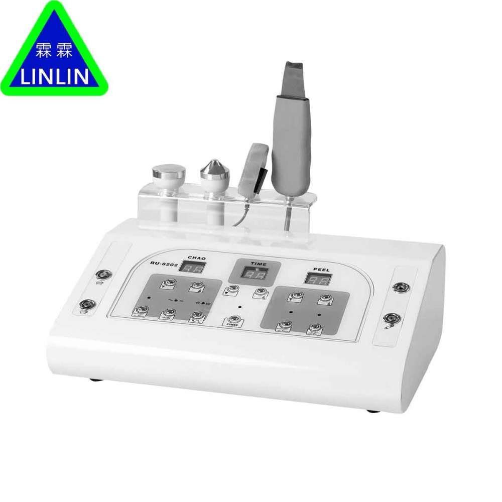 LINLIN Ultrasonic face nursing skin lift machine multifunctional beauty apparatus beauty parlour instrument gentleman in the parlour