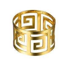 6 шт. кольца для салфеток, держатель для салфеток из сплава, западное обеденное полотенце, кольцо для салфеток, вечерние украшения стола, аксессуары Hogard