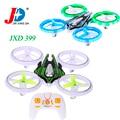 Original JXD 399 Nave de mantenimiento de Altitud LLEVÓ Teledirigido Luz Colorida UFO quadcopter 3d voltea juguete para niños y niñas vs jjrc h36
