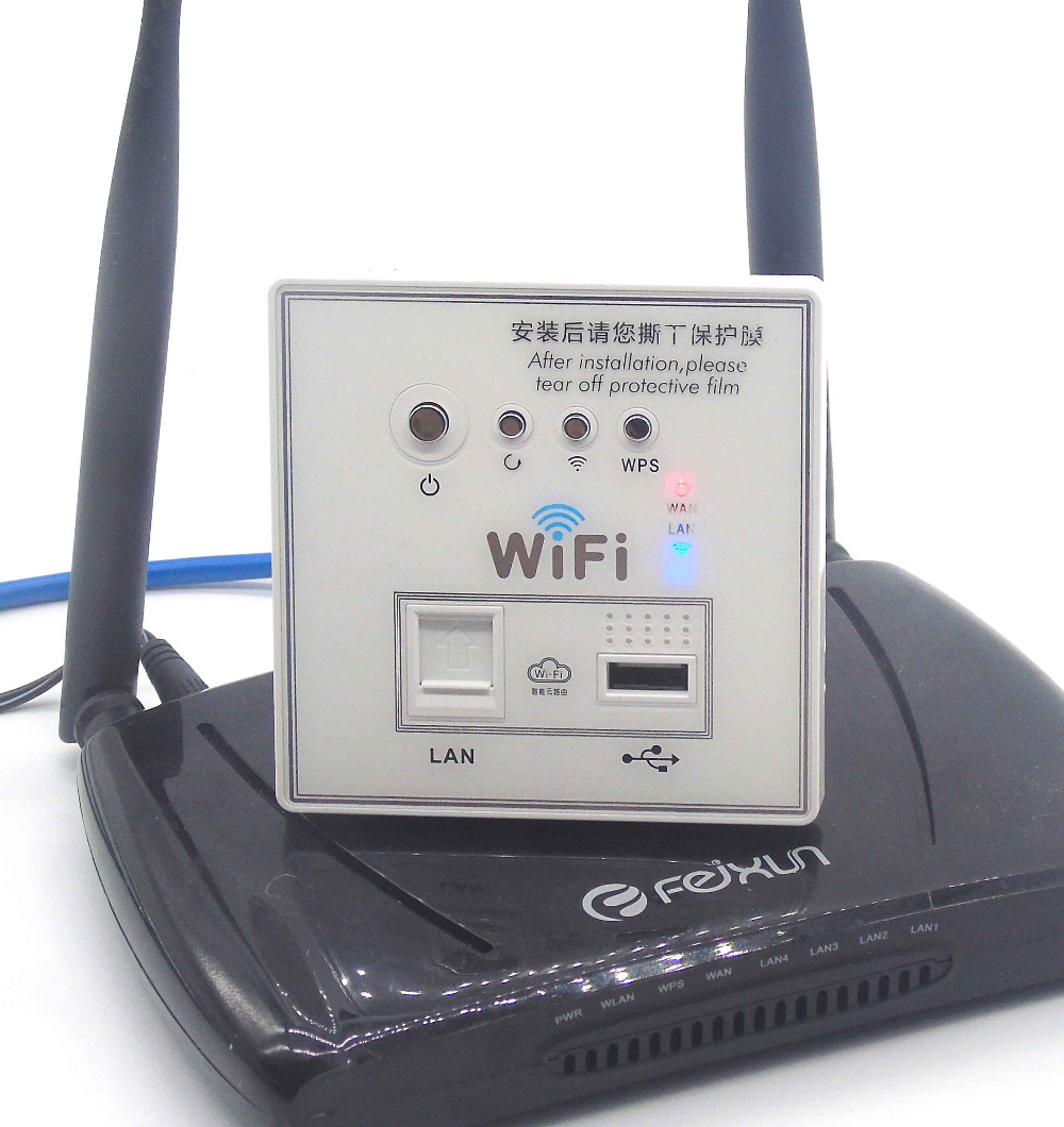 Hotel Embedded wall wifi router Power Over Ethernet 12V 48V-in ...