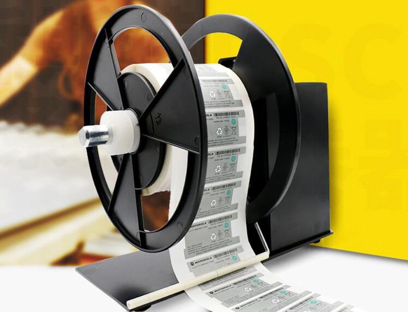 Automatic 220V Electric bar code label rewinder 90MM Y automatic digital label tags rewinder barcode rewinding machines speed adjustable 220v