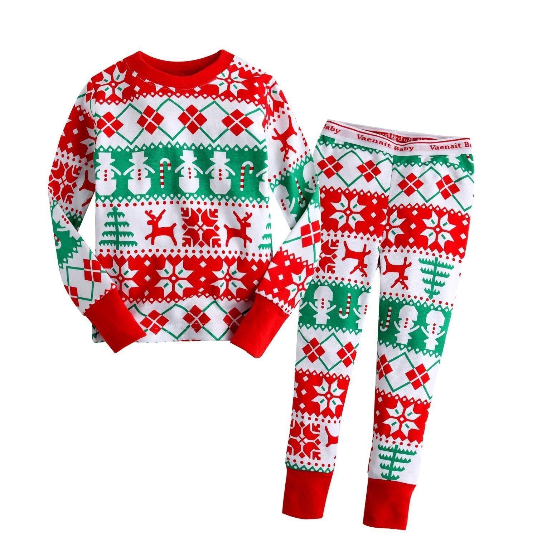 Medium Of Kids Christmas Pajamas