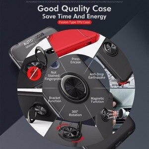 Image 4 - Étui antichoc pour Pocophone F1 étui anneau de doigt aimant mat housse en Silicone pour Xiaomi PocoPhone F1 étui pocophon Poco F1