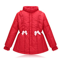 2017 Winter kids thicking jacket fashion kids casual clothes children's feather cotton wear girl jacket inner liner 17S907