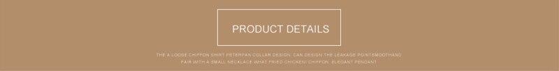product details -