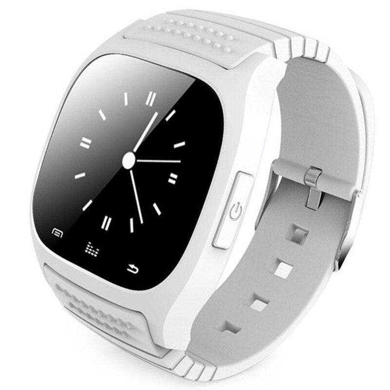 2018 Bluetooth M26 Montre Smart Watch Montre-Bracelet Smartwatch Appel SMS Rappeler Musique Lecteur Podomètre pour Android Samsung Smartphones