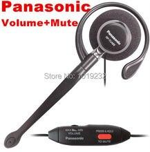 Freies Verschiffen P a n a s o n i c KX TCA93 Clip on Headse und Stummschaltung 2,5mm Stecker 2,5mm telefon headset mit mic