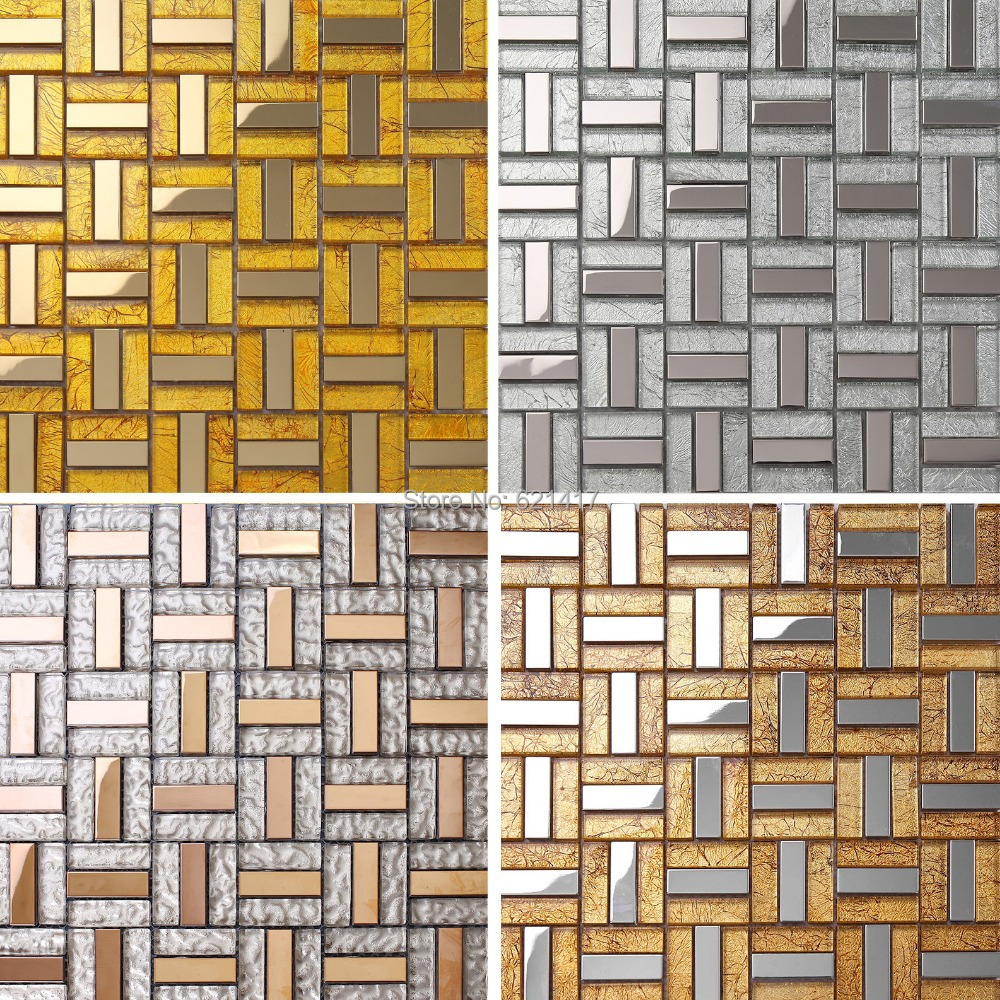 stainless steel kitchen wall tiles stainless steel glass mosaic tiles backsplash 8285