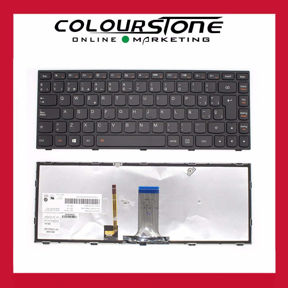 Hot Sell New Original Laptop Backlit Keyboard For Lenovo G40 30 Ideapad 45 70 75 Z40 Br Brazil Layout Win8 Mp 13p96e0j686 In Replacement Keyboards