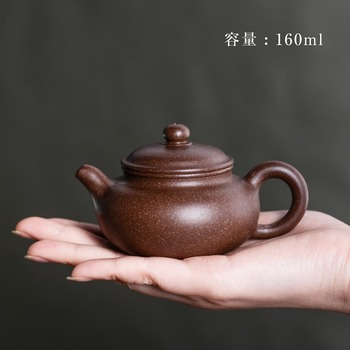 Authentic Zisha tea pot special wholesale small Yixing purple clay tea pot famous pure handmade antique Kungfu tea table gift фото