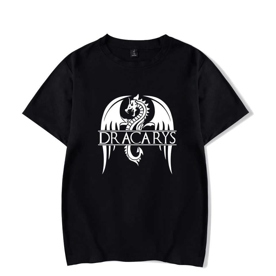 Dracarys ヘリーハンセンスポーツハンセンホットテレビユニセックス大人 Tシャツ原宿ヴィンテージ tシャツ Camisetas Hombre Tシャツ男性服 2019