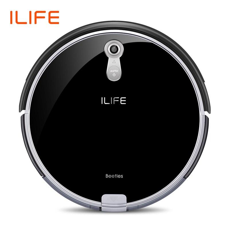 ILIFE A8 Robot Vacuum Cleaner para Câmera de Navegação Tapete Fino Vários modos De Limpeza