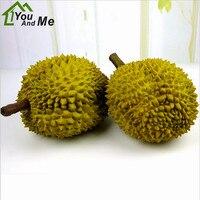 1Pc 26/30cm Simulation Artificial Fruit Foam Durian Fake Fruits Home Kitchen Table Decorative