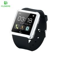 FLOVEME D2 Akıllı Izle IOS Android Samsung Tüm Smartphone Için Bluetooth Dijital Spor İzle Giyilebilir Elektronik Cihaz
