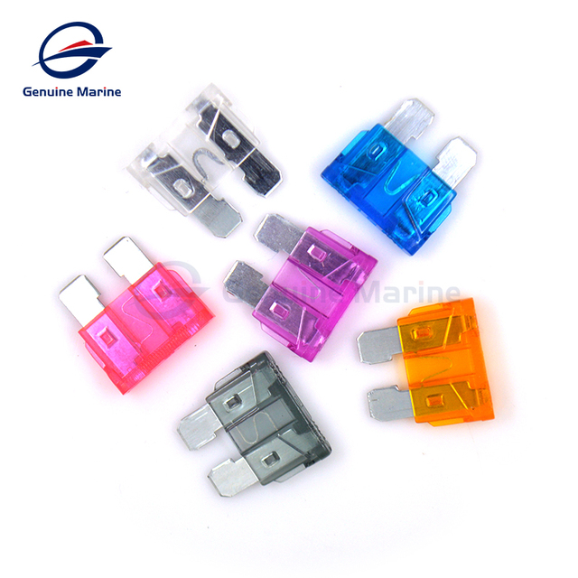 ats car fuse holder insert assembly waterproof fuse box fuse piece car rv  modified accessories genuine marine