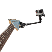The Jam Adjustable Guitar Music Mount Rotating Stage Camp Clip Table Tripod for Gopro Hero 3+ 4 sj4000 Action Camera Accessories
