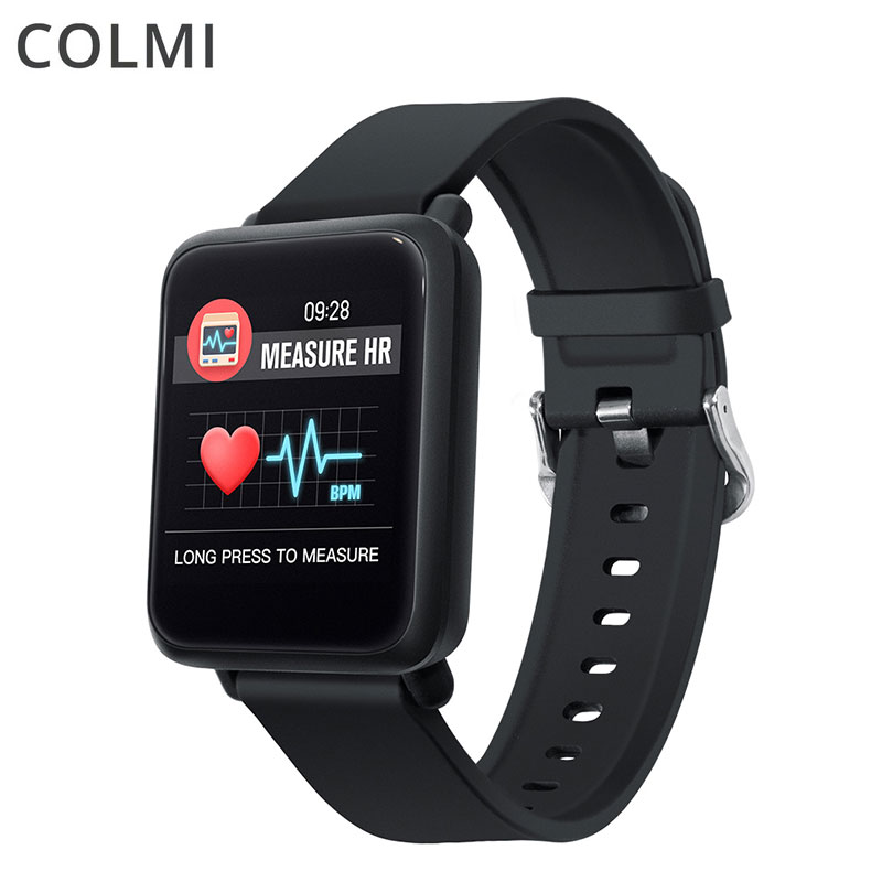 Montre intelligente COL mi M28 IP68 étanche Bluetooth fréquence cardiaque pression artérielle sans fil montre intelligente pour téléphone Xiao mi Android IOS