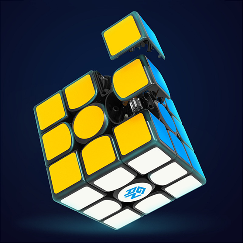 GAN356 X magnétique magic speed cube professionnel gans 356X aimants puzzle cubo magico gan 356 X - 5