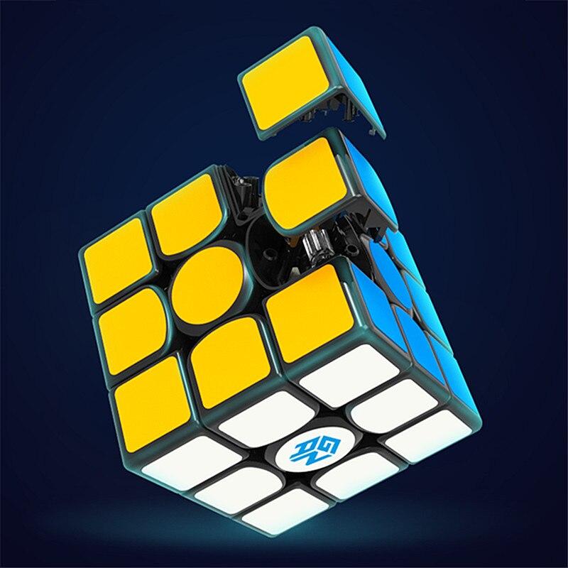 GAN356 X magnétique magique vitesse cube professionnel gans 356X aimants puzzle cubo magico gan 356 X - 5