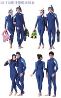 The best sales! Micofeel Retails Nylon Spandex UPF50+ 4XL Men wetsuit Jellyfish protect diving suit long surf Navy wet suit