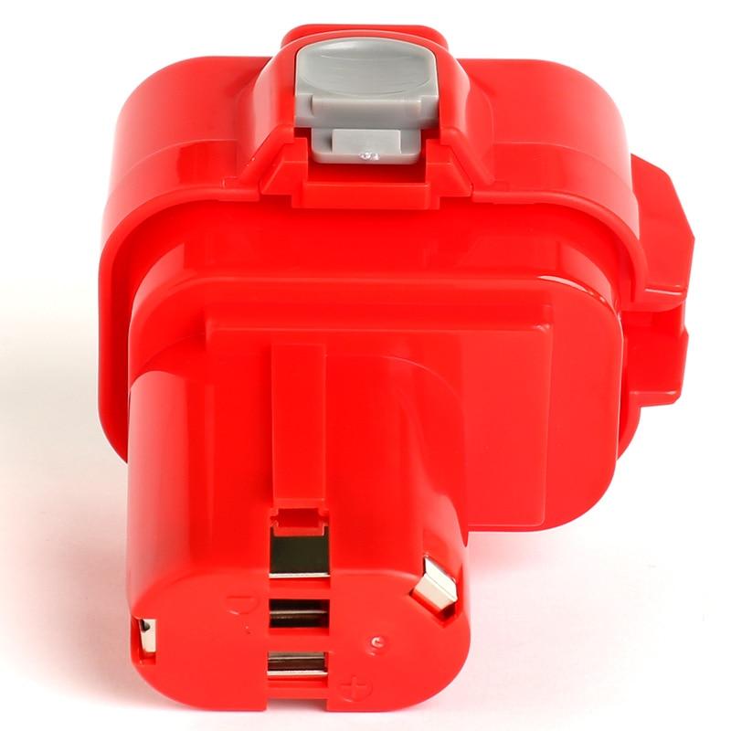 for Makita 9.6v 1500mAh power tool battery 6207D, 6207DWDE, 6222D, 6222DE, 6222DWE, 6226D, 6226DW, 6226DWBE, 6226DWE, 6260D