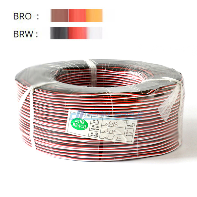 Servo Extension Cable 5/10M 22/26AWG Wire Extended Wiring 30/60 Cores Cord Lead For RC Helicopter Drone Cars