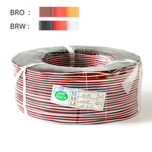 Servo verlengkabel 5/10 M 22/26AWG draad extended bedrading 30/60 cores cord lead voor RC helicopter drone cars(China)