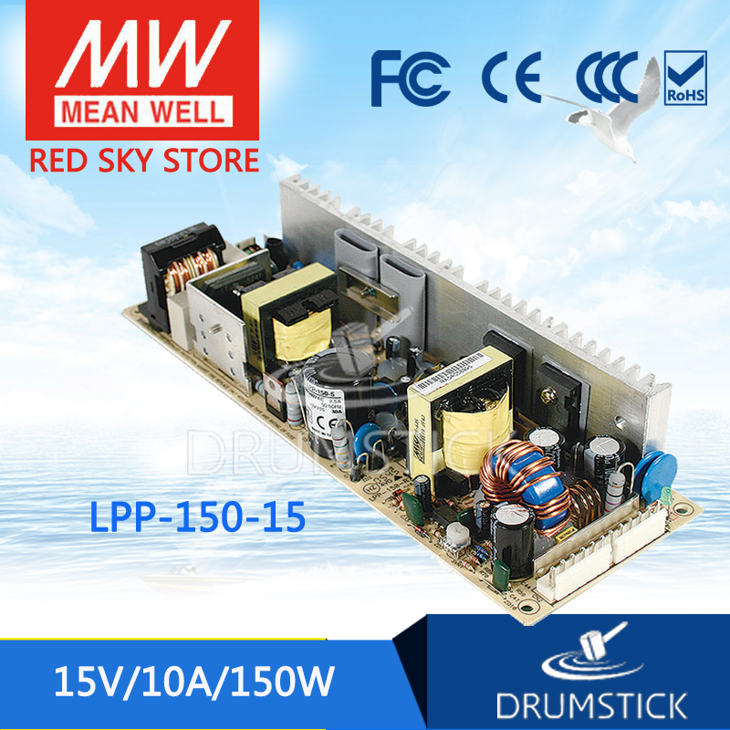 best-selling MEAN WELL LPP-150-15 15V 10A meanwell LPP-150 15V 150W Single Output with PFC Function [Real6]  [mean well1] original epp 150 15 15v 6 7a meanwell epp 150 15v 100 5w single output with pfc function