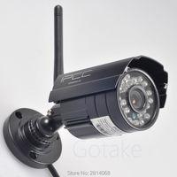Bezprzewodowa Kamera IP HD 720 P Odkryty WiFi IR Night Vision Cctv P2P Mobilna Zdalnego Dostępu Typu Bullet
