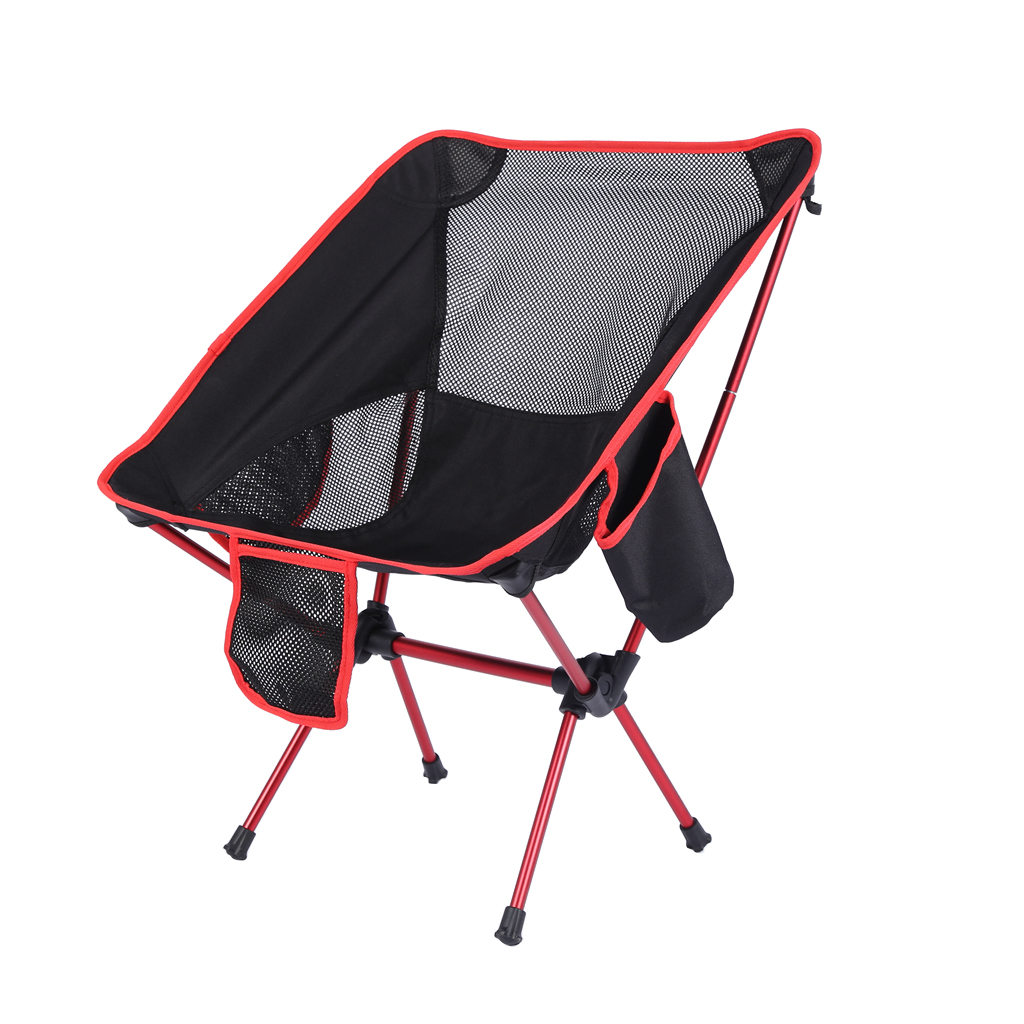 Outdoor Portable Folding Camping Hiking Fishing Picnic BBQ Stool Chair Seat Tool