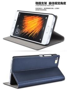 Image 2 - Neue Kommen! Für Xiaomi Mi5 Telefon Fall Luxus Dünne Art Flip Leder Fall Für Xiaomi Mi 5 /m5 Abdeckung Tasche