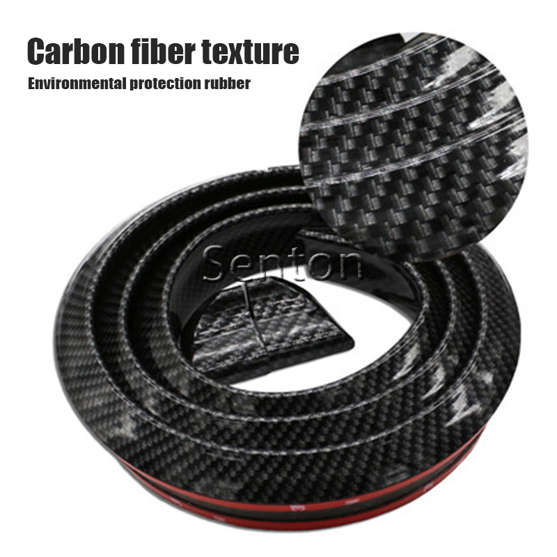 Car Carbon Fiber Spoilers Sticker For Peugeot 307 206 308 407 207 2008 3008 508 406 208 301 For Citroen C4 C5 C3 C2 Accessories linen car seat covers for peugeot 205 206 207 2008 3008 301 306 307 308 405 406 407 car accessories styling page 7