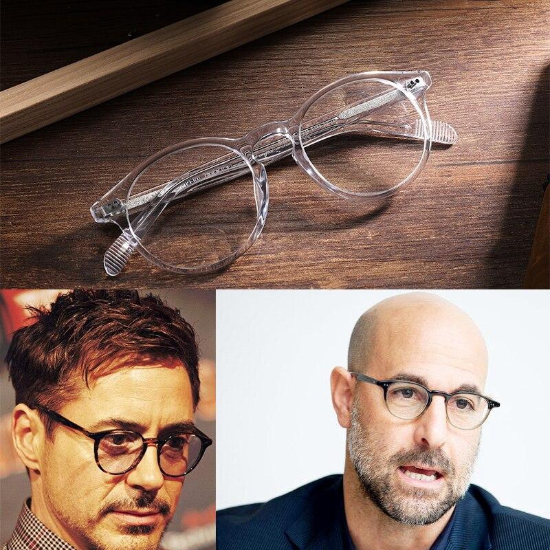 OV5241 Glaaase Frames Women Men Top Quality Round Vintage Eyeglasses Optical Oculos Computer Glasses myopia
