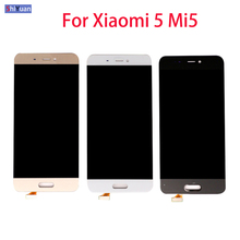 5.15 For Xiaomi Mi 5 LCD Display With Touch Screen Digitizer Assembly Replacement Parts For Xiaomi 5 LCD display Mi5 LCD Screen skylarpu 3 5 inch lcd screen for nl4864hl11 01b nl4864hl11 02a lcd display screen panel with touch screen digitizer replacement