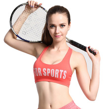 Sports Bras Cross Strap brassiere sport Vest Seamless Bra Shockproof Sportswear For Women Running Short Fitness Top