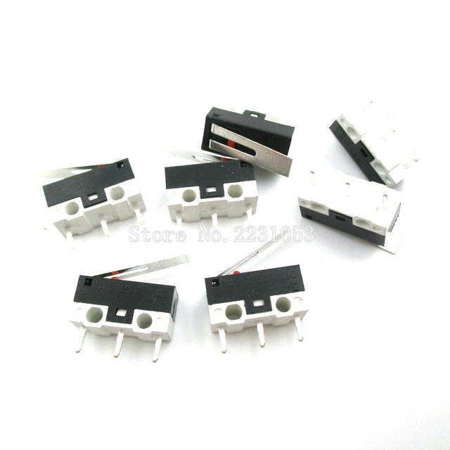 20pcs lot micro switch push button switch 3 pin 1a 125v ac mini20pcs lot micro switch push button switch 3 pin 1a 125v ac mini light touch