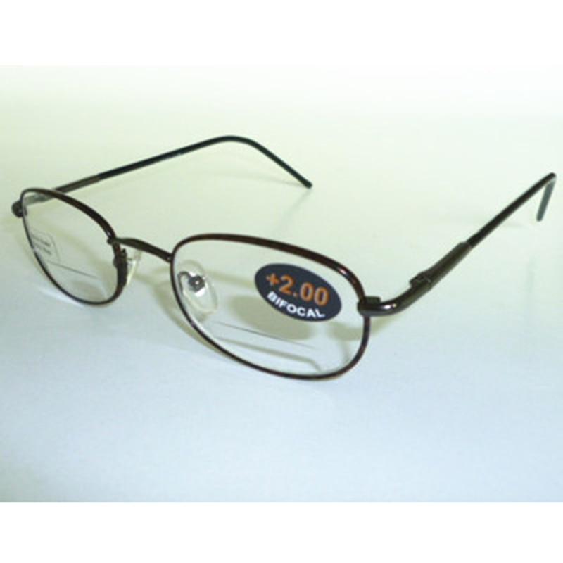 Leitor de óculos de Leitura Bifocal Óculos dobradiça De Mola de Metal de  alta Qualidade Óculos c969fa9a60