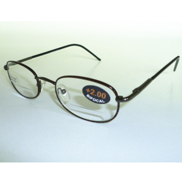 3185de9456b6 High Quality Bifocal Reading Glasses Metal Spring hinge Reader Presbyopic  Glasses Women Men Eyeglasses glasses magnifier