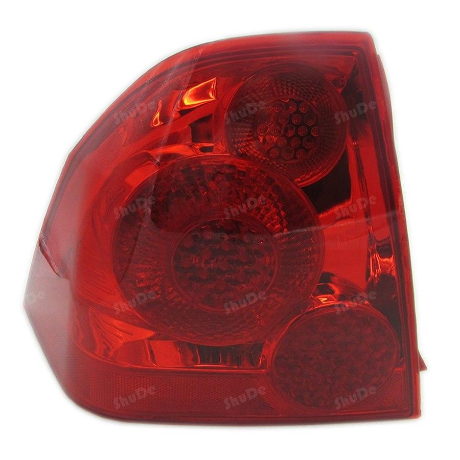 for peugeot 307  2007-2013 sedan fog lamp lights rear tail lamp assembly