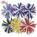 1 Шт. 6 Цветов Твердые Мини Hairbows Для Девочки Милые Аксессуары для волос, Заколки, Ленты Hair Bows For Baby Младенческой шпилька