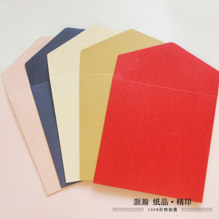 Pearl Color Western-style Envelopes 15.8cm X 15.8cm Square Envelope 250 Gms Thick Business Envelope 50PCS