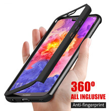 Shockproot Full Cover Case for Huawei P30 Lite P20 Pro P10 Plus Protector with Tempered Glass Cases for Huawei Nova 2i 3 3i 4(China)