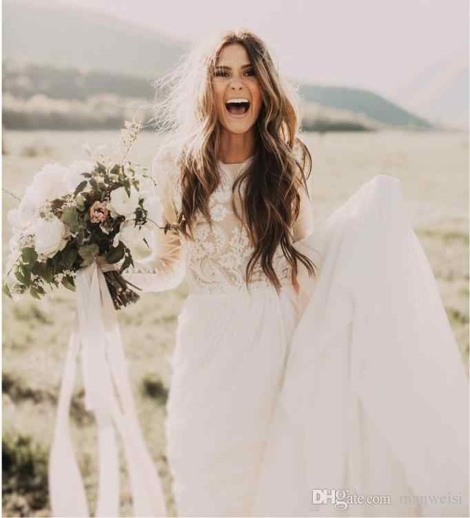 dac3399766 Beach Jumpsuits Wedding Dresses Off The Shoulder Country Bohemian Bridal  Gowns 2019 Custom Made Wedding Dress