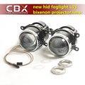 CBX Последним ЛИДЕР Биксенон Объектив Проектора Противотуманные Фары Ярко, как Hella L03 с HID Лампы D2H Водонепроницаемый Специальный Используется для Многих Автомобилей